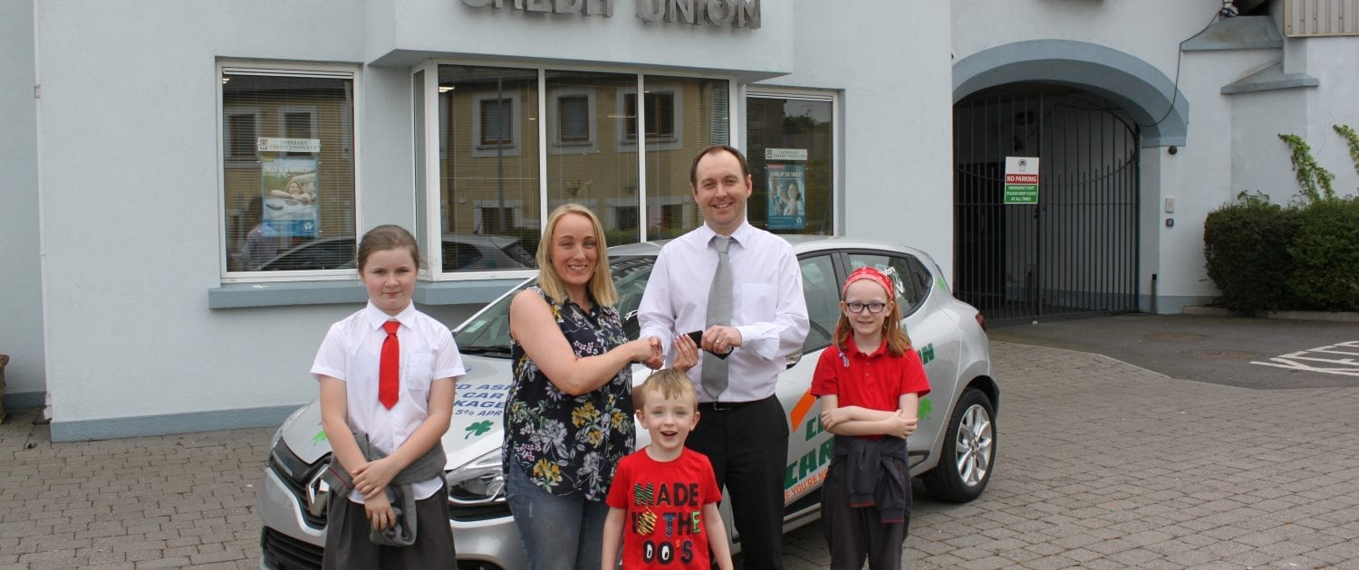 May Members Car Draw Winner