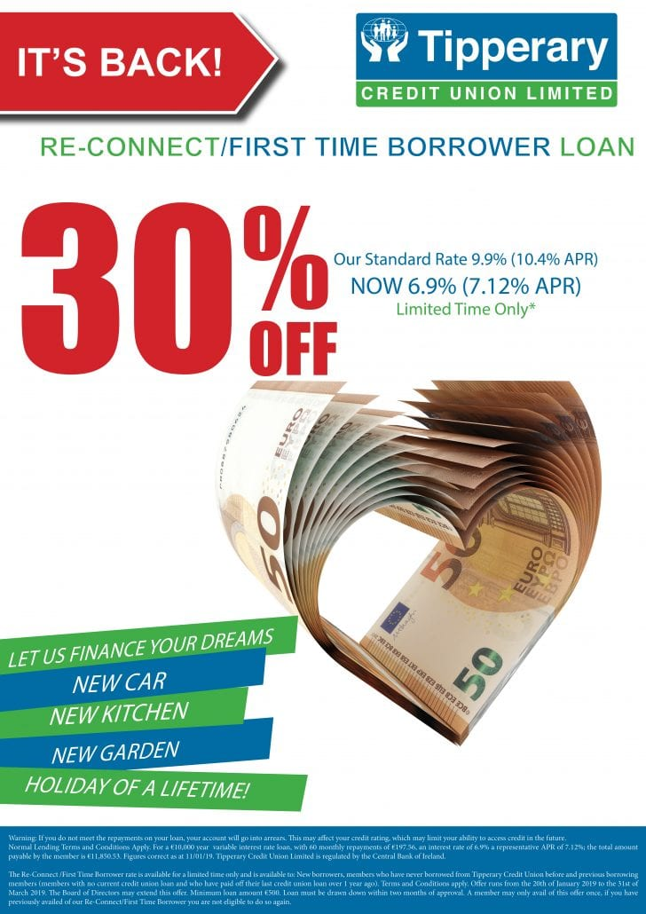 30% Discount off Standard Personal Loan Rate