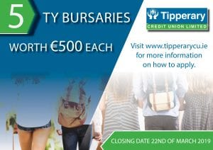 Transition Year Bursary Awards