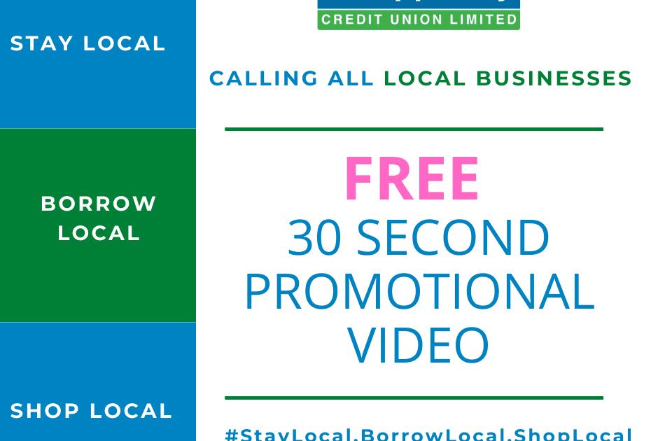 Stay Local Borrow Local Shop Local